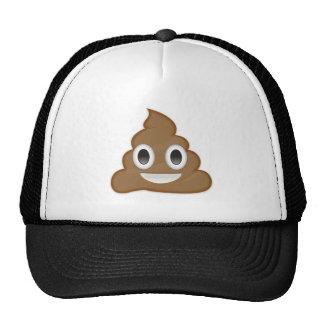Pila de Poo Emoji Gorra