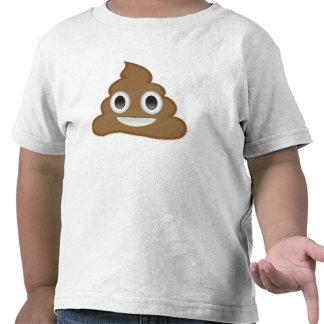 Pila de Poo Emoji Camisetas