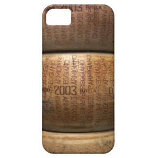 Pila de quesos parmesano, primer iPhone 5 cárcasas