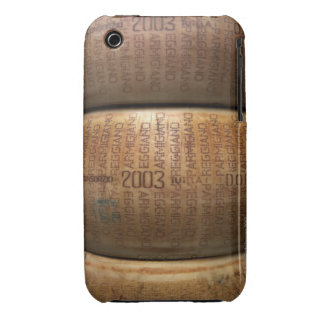 Pila de quesos parmesano, primer iPhone 3 carcasas
