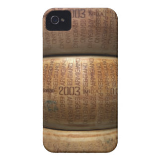 Pila de quesos parmesano, primer iPhone 4 Case-Mate cárcasa
