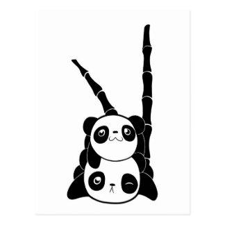 Pila de tarjeta de las pandas tarjeta postal
