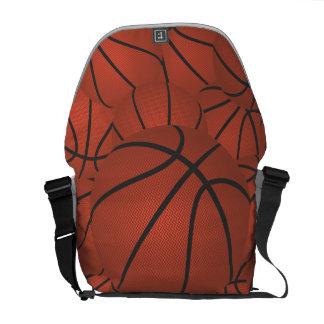 pila del baloncesto bolsas de mensajería