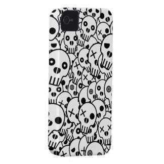 Pila del cráneo carcasa para iPhone 4 de Case-Mate