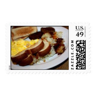 Pila del desayuno sello