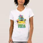 Pila del DIBUJO ANIMADO - camiseta para mujer