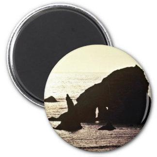 Pila del mar - del parque nacional de la secoya imanes para frigoríficos