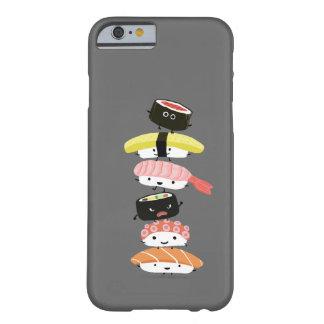 Pila del sushi - una torre de Kawaii de los Funda Para iPhone 6 Barely There