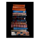 Pila del vintage de libros viejos