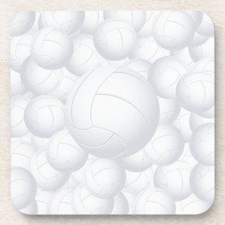 pila del voleibol posavasos de bebidas