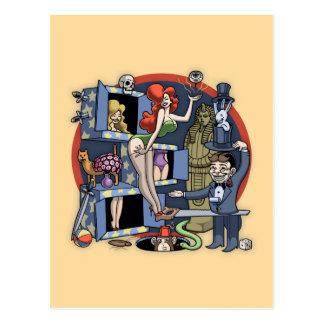 Pila mágica tarjeta postal