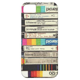 Pila retra de la cinta del vintage 80s VHS de la iPhone 5 Fundas
