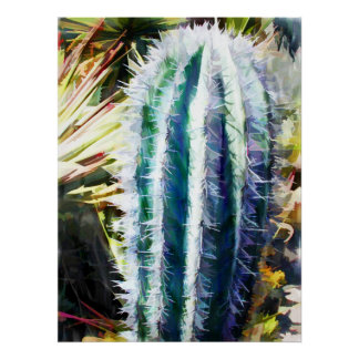 Pilar del cactus poster
