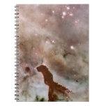Pilar del polvo de la nebulosa de Carina Libretas Espirales