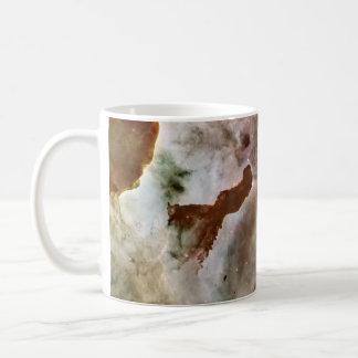 Pilar del polvo de la nebulosa de Carina Taza Clásica