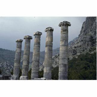 Pilares de dioses esculturas fotograficas