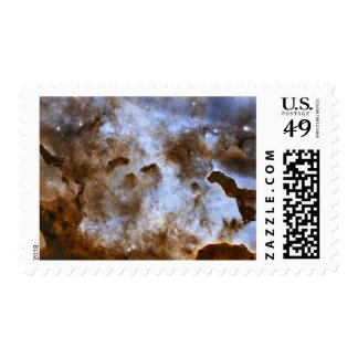 Pilares de Estrella-Formación de la nebulosa de Estampillas