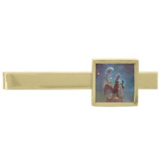 Pilares de la creación alfiler de corbata dorado