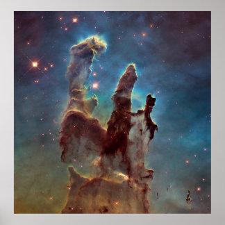 Pilares de la creación posters