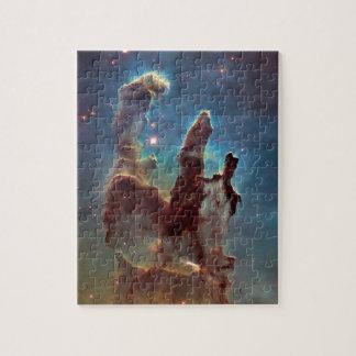 Pilares de la creación puzzle con fotos