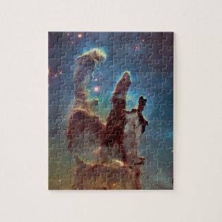 Pilares de la creación rompecabezas con fotos