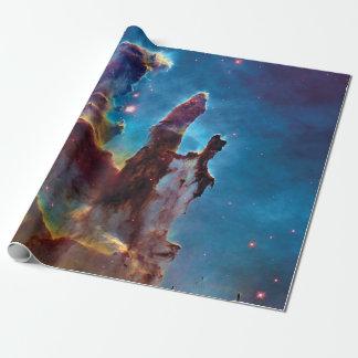 Pilares de la nebulosa de la creación M16 Eagle Papel De Regalo