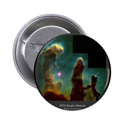 Pilares de la nebulosa de M16 Eagle 'de Creation Pins