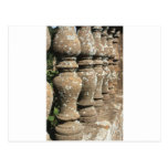 pilares de piedra postal