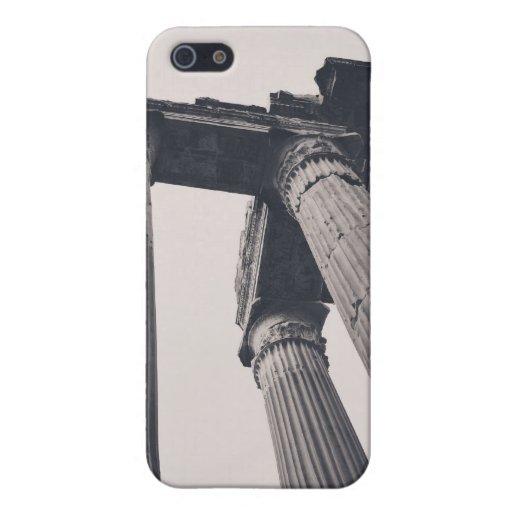 Pilares de Roma iPhone 5 Carcasa