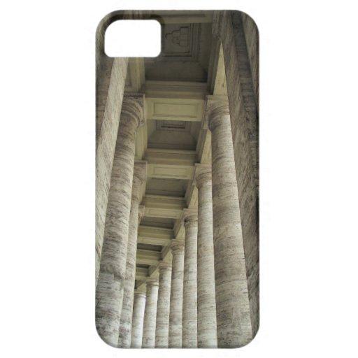 Pilares de Vatican iPhone 5 Fundas