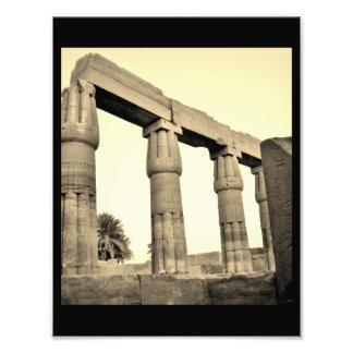 Pilares del templo de Karnak Fotografías
