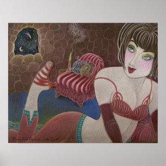 Pilar's Pink Pants art print