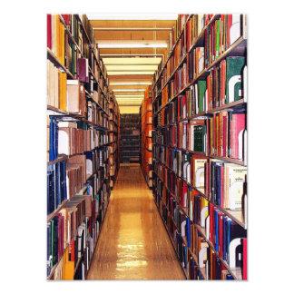 Pilas de la biblioteca cojinete