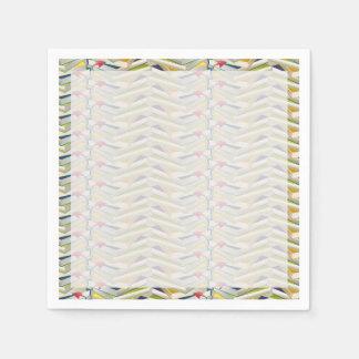 Pilas de libro del zigzag servilleta de papel