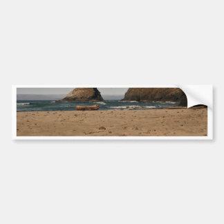 Pilas del mar el al frente de Heceta Pegatina Para Auto