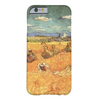Pilas del trigo de Van Gogh con bella arte del Funda Barely There iPhone 6