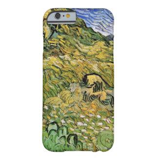 Pilas del trigo del campo w de Van Gogh, bella Funda Barely There iPhone 6