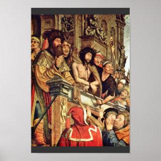Pilate muestra a Cristo a la gente de Massys Quent Poster