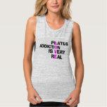 Pilates Addiction - Pilates Muscle Tank for Women