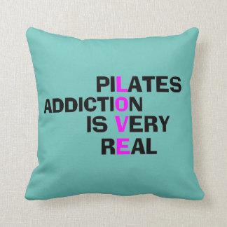 Pilates Addiction - Studio Decor Items Pillow