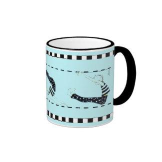 """""""pilates and coffee"""" mug"""
