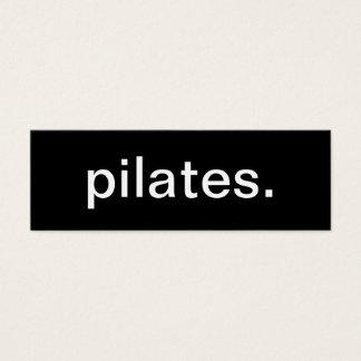 Pilates Business Card