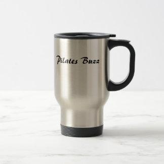 Pilates Buzz 15 Oz Stainless Steel Travel Mug