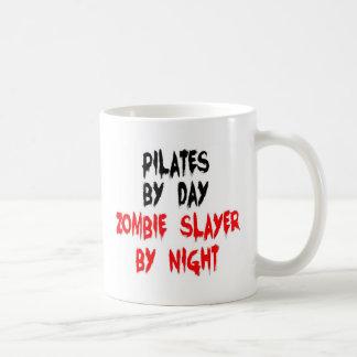 Pilates by Day Zombie Slayer by Night Classic White Coffee Mug