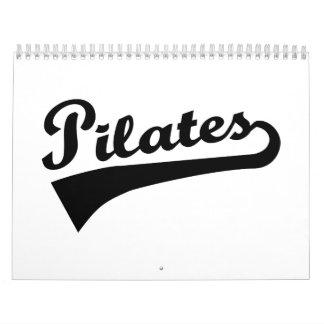 Pilates Calendar