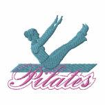 Pilates Chaquetas Bordadas