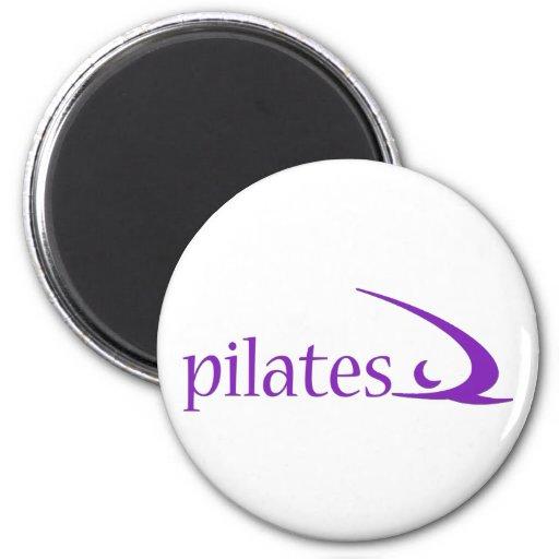 Pilates Design! 2 Inch Round Magnet