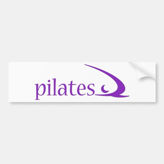 Pilates Design! Bumper Sticker