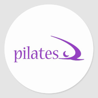 Pilates Design! Classic Round Sticker