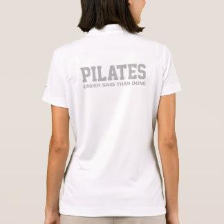 Pilates Easier Said Than Done Polo Shirt